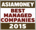 Best Managed Companies - Asiamoney Best Managed Company for small-cap companies 2015