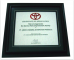 Toyota - This is to Appreciate the Service Parts Improvement Activity